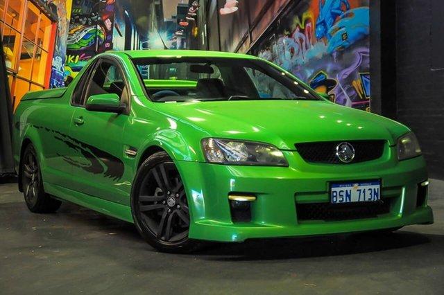 2007 Holden Ute Ve Sv6 Green 6 Speed Manual Utility Nzrelo