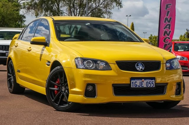 2011 Holden Commodore Ve Ii My12 Ss V Redline Yellow 6 Speed Manual
