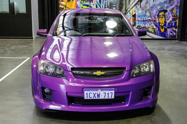 2007 Holden Commodore VE SS Purple 6 Speed Sports Automatic
