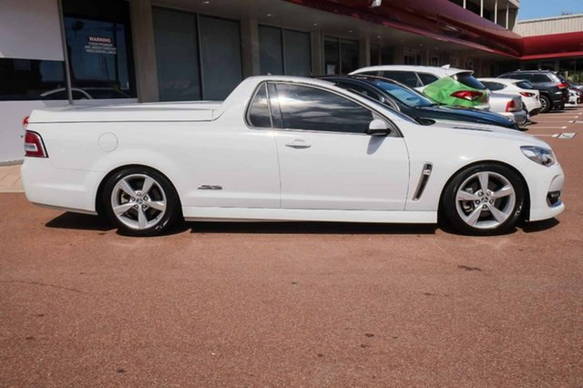 2016 Holden Ute VF II MY16 SS Ute White 6 Speed Manual