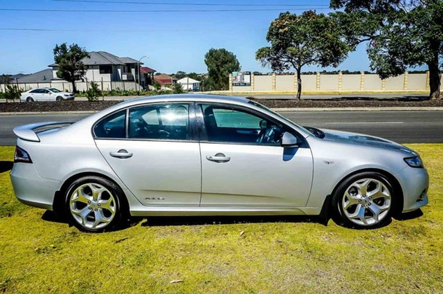 2012 Ford Falcon FG MkII XR6 Turbo Silver 6 Speed Sports