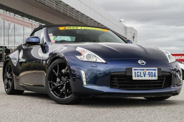 2014 Nissan 370z Z34 My15 Midnight Blue 7 Speed Sports Automatic