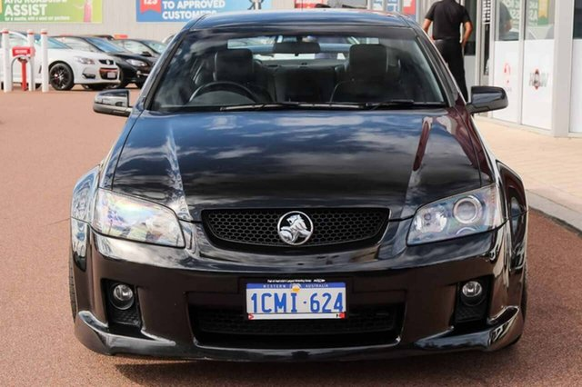 2006 Holden Commodore VE SS V Black 6 Speed Sports Automatic