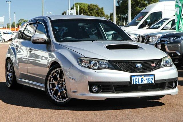 2008 Subaru Impreza G3 My08 Wrx Sti Awd Spec R Silver 6 Speed Manual