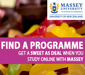 Study Online With Massey University Ad Space 2