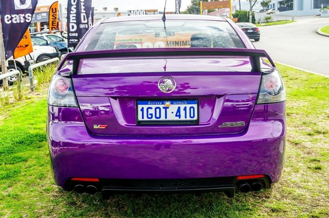 2007 Holden Commodore VE SS V Purple 6 Speed Sports Automatic Sedan