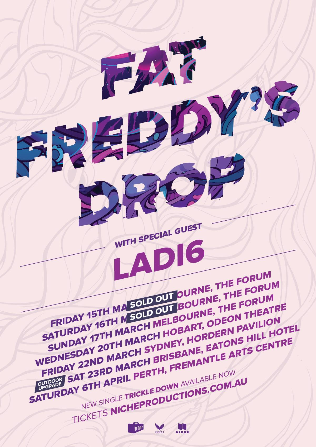 Fat freddys drop australia tour